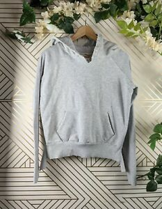 Frank Eileen Tee Lab Distressed Hoodie Grey Gray Size Small