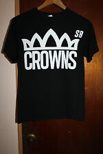 Crowns SB Westpac Open Guam 2014 Men's Black T Shirt Size Small Guahan Hafa Adai