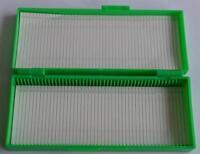 1pc New  Microscope Slides Box Slide Storage Holds 50 Slides color randomly