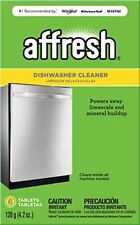 Affresh W1 Dishwasher Cleaner 6 Tablets Formulated to Clean Inside All Machine M