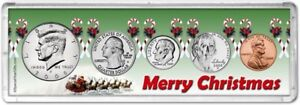 Merry Christmas Coin Gift Set for the year 2008