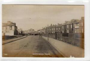 SOUTH BEACH, TROON: Ayrshire postcard (C33034)