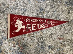 Rare - 1970's Cincinnati Red Pennant Ex+ Condition