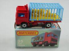 35-D Volvo Zoo Truck - 53981 Matchbox Superfast