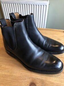 Church's Mens Black Boots Size 8
