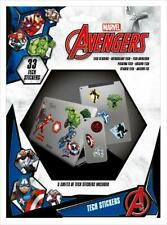 Marvel Avengers Heroes Tech Stickers 33 Pack