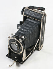 Vaiuxhall F. Deckel Munchen Folding MF Camera With Meyer Optik Trioplan lens