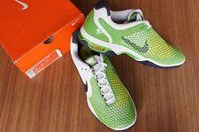 NIKE Air Max Courtballistec 3.3 Men's Tennis Shoes, White/Green (Size: US 11)