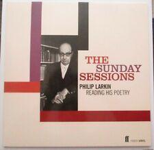 Philip Larkin The Sunday Sessions LP (Faber)