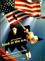 PAUL McCARTNEY 2002 BACK IN THE U.S. TOUR CONCERT PROGRAM BOOK BOOKLET / EX 2 NM