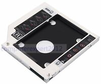 2nd Hard Drive SSD HDD Caddy for HP ZBook 15 17 Workstation + HP HOME 15-ac120nd