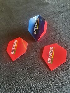 Rare Unicorn Betfred World Matchplay Promotional Dart Flight great for collector