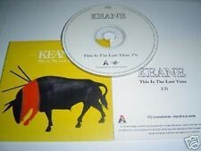KEANE THIS IS THE LAST TIME FRANCE ACETATE PROMO CD