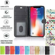 For Apple iPhone 3 / 3G / 3GS Book Pouch Cover Case Wallet PU Leather