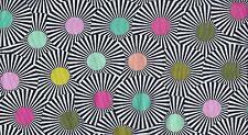 Free Spirit Tula Pink Fabric Slow & Steady Clear Skies Strawberry .5 Yard Cotton