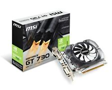 new msi nvidia gt730 4gb ddr3 128bit n730-4gd3v2 pci-e grafikkarte vga dvi hdmi