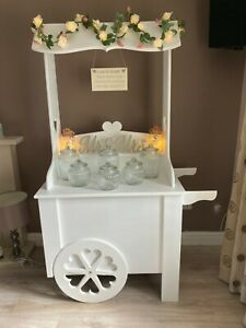 ** CANDY CART HIRE WEDDINGS BIRTHDAYS CHRISTENINGS PARTY SWEET CART PACKAGES **