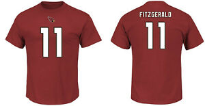 NFL T-Shirt Arizona Cardinals Larry Fitzgerald 11 Red ER3 Receiver Jersey