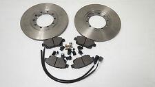 FORD TRANSIT MK7 JUMBO REAR BRAKE PADS & DISC SET RWD MODELS 3.2 / 140 & 200 PS