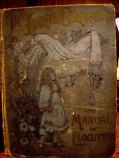 """1896 """"The Ideal Orator and Manual of Elocution""""  edited by John Wesley Hanson, J"""