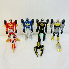 Power Rangers Red Blue Black Silver Ranger Transformers Cars Blue Missing Piece