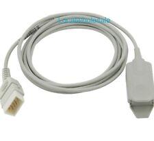 BCI DB9 9pin Spo2 Sensor Compatible 10feet 3meters Adult Finger Clip