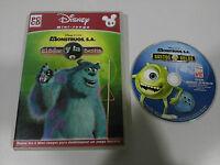 Monstruos S. A.Le Billard Y La bestia Jeu De PC Espagnol Cd-Rom Disney
