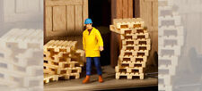 FALLER HO scale ~ 'SHIPPING PALLETS' ~ PLASTIC MODEL KIT-SET #180904