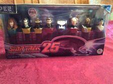 Star Trek Next Generation Series PEZ Collector Sets 8 Candy Dispensers Riker ++
