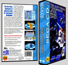 Star Wars Chess - Sega CD Reproduction Art DVD Case No Game