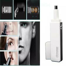 New Nasal Nose Hair Trimmer Clipper Ear Eyebrow Cordless Grooming Cutter Mens