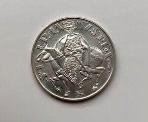 Ungarn 50 Forint 1972 Silber King St. Stephen  Unz