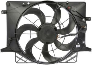 Auxiliary Fan Assembly For 2010-2012 Hyundai Genesis Coupe 2.0L 4 Cyl Dorman