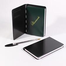 Saunders Padfolio aluminium notebook cover with free notebook