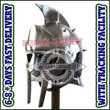 Fully Wearable Gladiator Movie Helmet Roman Arena Knight Maximus Armour Helm Am1