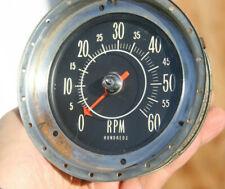 57 1957 Mercury Cruiser Mechanical Vintage 6k 6000 Rpm Tachometer