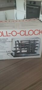 Vintage Roll - O - Clock Ball Clock Kinetic Working boxed