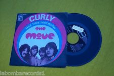 """THE MOVE Curly/This Time Tomorrow (EX+/EX+) SPAIN press 1969 Top single 7"""" PROMO"""