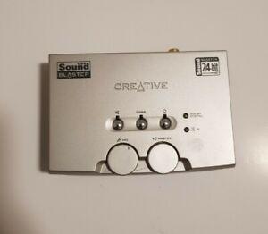 CREATIVE LABS SOUND BLASTER SB0300 TARJETA DE SONIDO EXTERNA USB 24Bit