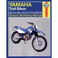 Haynes 2350 Workshop Manual for Yamaha Trail Bikes PW RT TT-R XT 1981-2000