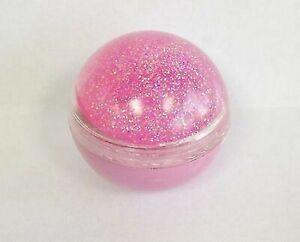 Naturistics Miss Kiss Jingle Gloss Lip Gloss-Pink /Pink Glitter - 1996-03 - NEW