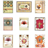 THANKSGIVING and FALL Greeting Cards - A2 size with Envelope - You Choose Style