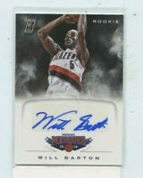 Will Barton 2012-13 Panini Marquee RC Rookie Auto Autograph # 53 Denver Nuggets