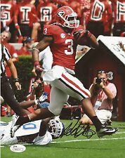 TODD GURLEY GEORGIA BULLDOGS Signed Autographed 8x10 Photo JSA St. Louis Rams