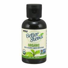 Biologique Liquide Stevia 59ml par Now Aliments