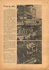 Anschluss Vienne Pompier Vienna Firefighter Austria Osterreich 1938 ILLUSTRATION