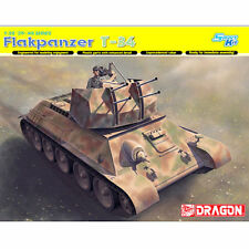 DRAGON 6599 Flakpanzer T-34 1:35 Smart Military Model Kit