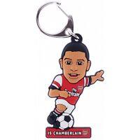 Chamberlain Pvc - Arsenal Keyring Oxlade Fc Football Official