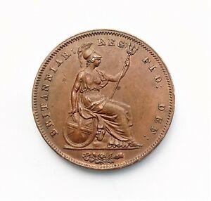 Victoria 1847 Penny Ornamental Trident