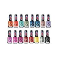 RIMMEL 60 SECONDS NAIL POLISH/ VARNISH #YOU CHOOSE COLOR